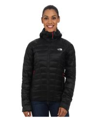 The North Face - Black Quince Hooded Jacket - Lyst