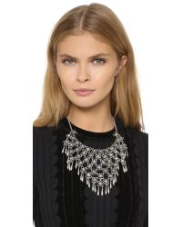 Adia Kibur - Metallic Ava Necklace - Silver - Lyst