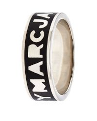 Marc By Marc Jacobs | Metallic Logo Disc-o Ring | Lyst