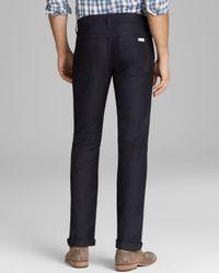 Joe's Jeans Blue Brixton Slim Straight Fit in Deandre for men