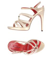 Cesare Paciotti - Natural Sandals - Lyst