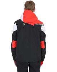 Spyder Black Titan Thinsulate Ski Jacket for men