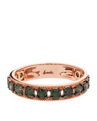 Annoushka | Green Dusty Diamond Eternity Ring | Lyst