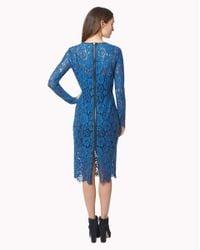 Veronica Beard Blue Knee-length Dress