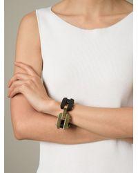 Fendi Black Chains Bracelet