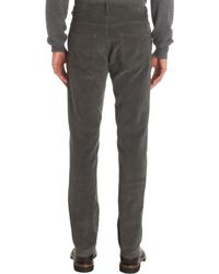 Bottega Veneta - Gray Relaxed Fit Corduroy Pants for Men - Lyst