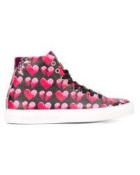 Philipp Plein - Pink 'smater' Hi-top Sneakers - Lyst
