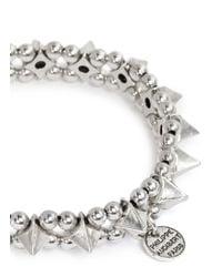 Philippe Audibert | Metallic Spike Elasticated Bracelet | Lyst