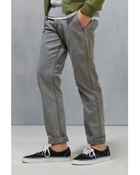Dockers - Gray Alpha Washed Khaki Slim Pant for Men - Lyst