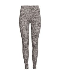 H&M Black Jersey Leggings