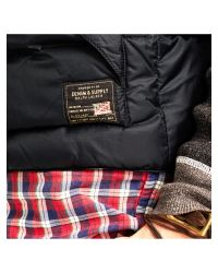 Denim & Supply Ralph Lauren - Black Down Fill Gilet for Men - Lyst