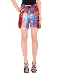 Jucca - Red Bermuda Shorts - Lyst