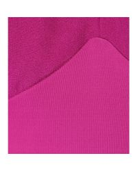 Roberto Cavalli - Purple Silk-chiffon Gown - Lyst