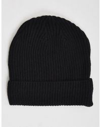Cheap Monday | Cm Beanie Black - Black for Men | Lyst