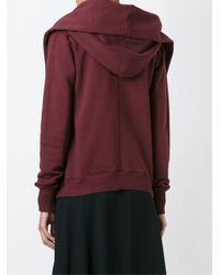 Bliss and Mischief - Pink Shawl Collar Sweatshirt - Lyst
