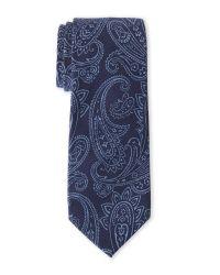 Ben Sherman | Blue Chippenham Paisley Tie for Men | Lyst