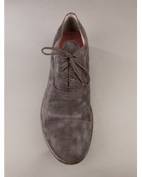 Premiata | Gray Leather Shoe for Men | Lyst