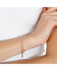 Astley Clarke - Purple Biography 18ct Gold Vermeil Woven Friendship Bracelet - Lyst
