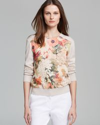 Tory Burch | Multicolor Kerstin Sweater | Lyst