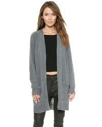 Rag & Bone - Gray 'Valentina' Sweater - Lyst