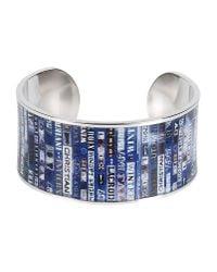Christian Lacroix - Metallic Bracelet - Lyst