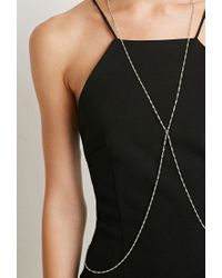 Forever 21 | Metallic Singapore Body Chain | Lyst