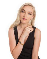 Trina Turk | Black Magnetic Bracelet | Lyst