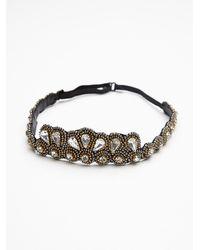 Free People - Metallic Mulholland Headband - Lyst