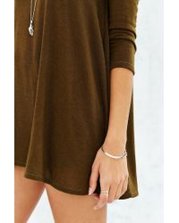 Project Social T - Green Wilshire Tunic Top - Lyst
