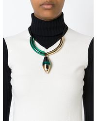 Marni | Green 'runway' Necklace | Lyst