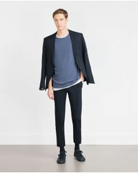 Zara | Blue Sweater for Men | Lyst