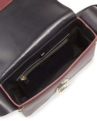 3.1 Phillip Lim - Purple Alix Leather Shoulder Bag - Lyst