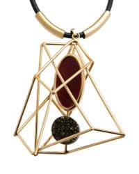 Marni | Metallic Necklace | Lyst
