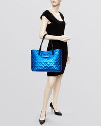 Marc By Marc Jacobs Metallic Tote - Quilted Metropolitote 48