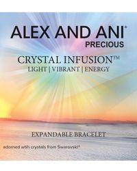 ALEX AND ANI - Metallic Crystal Infusion Bracelet - Lyst