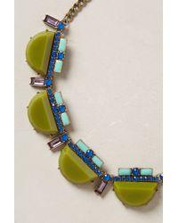 BaubleBar | Green Veld Bib Necklace | Lyst