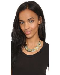 Marc By Marc Jacobs - Multicolor Beat It Metal Plectrum Choker Necklace - Oro Multi - Lyst