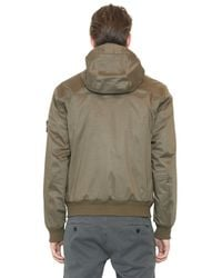 Stone Island Green Performance Cotton Jacket for men
