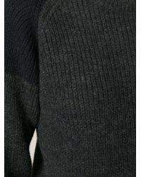IRO - Gray Piper Sweater - Lyst
