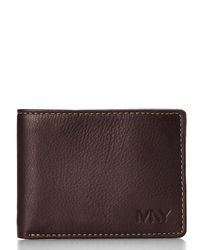 Marc New York - Brown Slimfold Wallet for Men - Lyst
