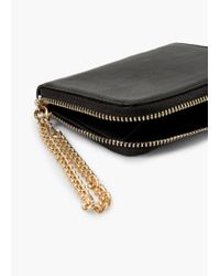 Mango | Black Chain Coin Purse | Lyst