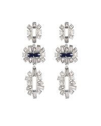 Alexis Bittar - Metallic Framed Baguette Tiered Post Earring You Might Also Like - Lyst