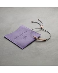 Monica Vinader | Pink #sheinspiresme Friendship Bracelet | Lyst