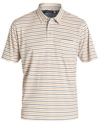 Quiksilver | Natural Waterman Harborside Polo for Men | Lyst