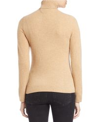 Lord & Taylor | Natural Cashmere Turtleneck Sweater | Lyst
