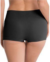 Spanx | Black Shaping Boyshort Panty | Lyst