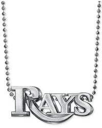 Alex Woo - Metallic Mlb Collection By Sterling Silver Tampa Bay Rays Pendant Necklace - Lyst