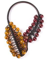 Oui, Odile! | Purple Beaded Necklace | Lyst