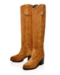 Moda In Pelle Brown Garcina Medium Casual Long Boots