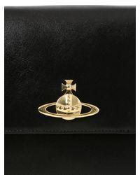 Vivienne Westwood Black Divina Faux Leather Satchel